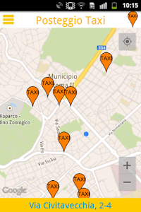 Posteggio Taxi screenshot 1