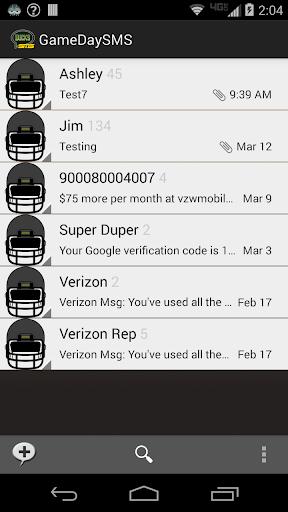 GameDay SMS - Oregon
