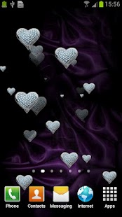 Hearts Live Wallpaper FREE - screenshot thumbnail