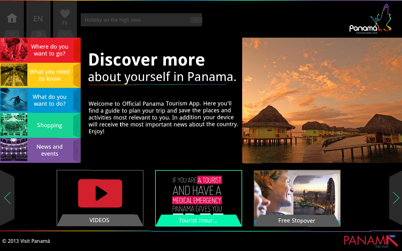 Visit Panama Official Guide - screenshot