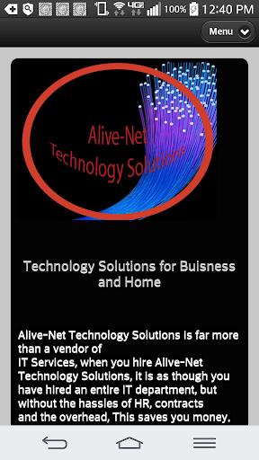 【免費商業App】Alive-Net Technology Solutions-APP點子