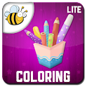 Kids Coloring Book Lite logo