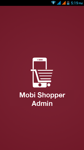 Mobishopper Admin