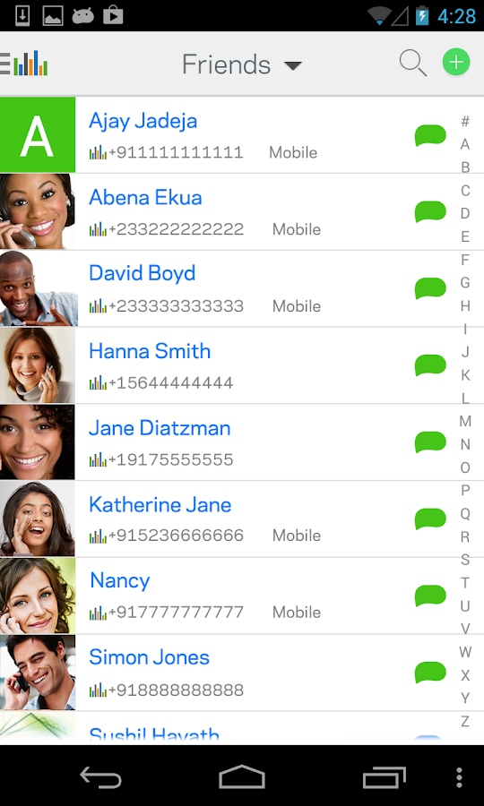 InstaVoice® Voicemail & Chat- screenshot