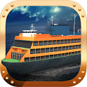 Boat Simulator ferry 3D icon