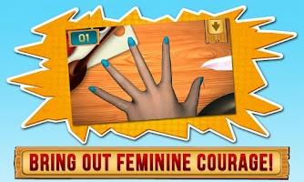 Screenshot of Fingers Vs Knife 3D