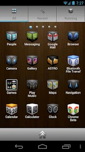Cube Theme 4 Go Launcher Ex- screenshot thumbnail