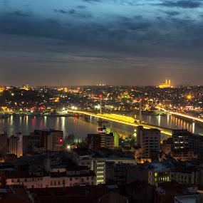 Night Istanbul by La Prairie - City,  Street & Park  Night