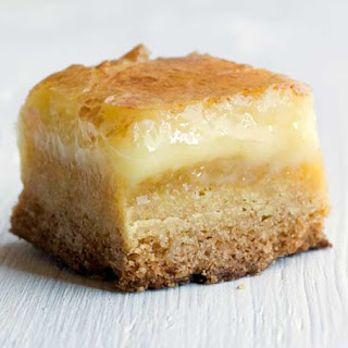 Butter Cake Bars Recipe