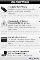 Screenshot of Meu Corinthians