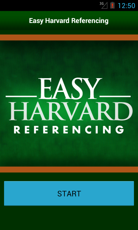 Easy Harvard Referencing- screenshot