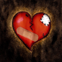 Broken Heart 3D Live Wallpaper icon
