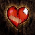 Broken Heart 3D Live Wallpaper icon