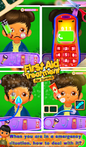 First Aid Treatment - Burning v8.1.1