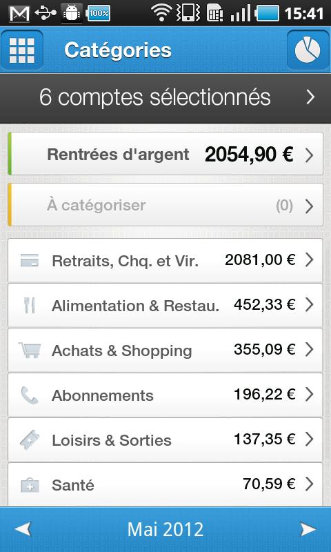Bankin', mon Budget ma Finance - screenshot
