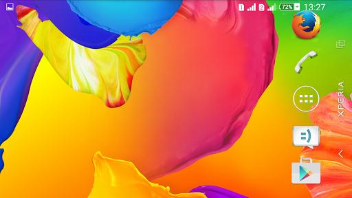 個人化必備APP下載|Theme eXPERIAnz Rainbow Colors 好玩app不花錢|綠色工廠好玩App