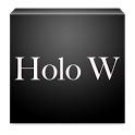 Holo White CM11 Theme icon