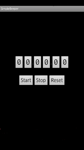 SimpleBeeper Count Down Timer