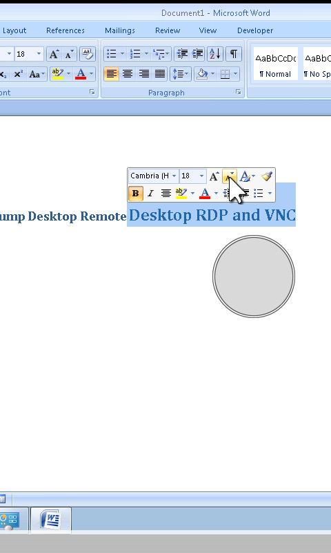 Jump Desktop (RDP & VNC)- screenshot
