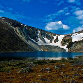 Lake Angeline by Greg Harcharik - Landscapes Mountains & Hills