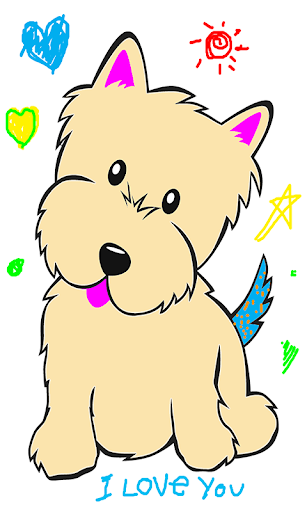 Dog Coloring Pages.