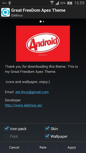 Great Freedom Apex Theme