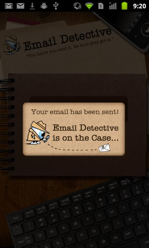 Email Detective- screenshot