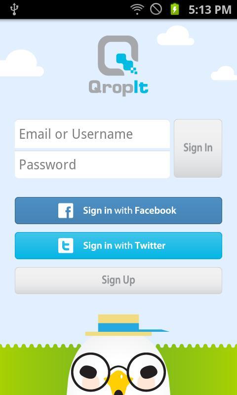 Qropit Social QR Code Reader- screenshot