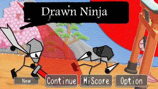 Drawn Ninja