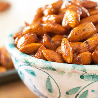 Honey-Thyme Roasted Almonds.