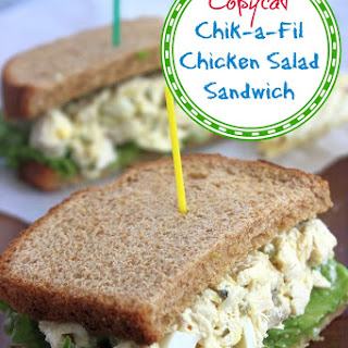 Copycat Chik-a-Fil Chicken Salad Recipe (Sandwich Recipe).
