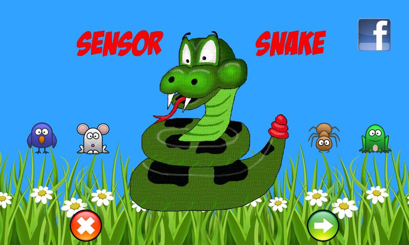 SensorSnake- screenshot
