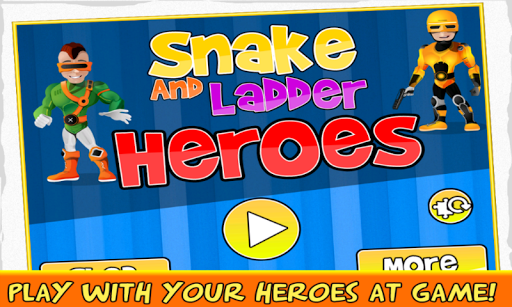 Snake And Ladder Heroes