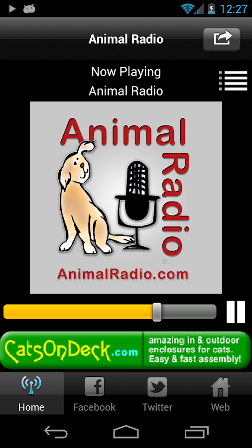 Animal Radio - screenshot