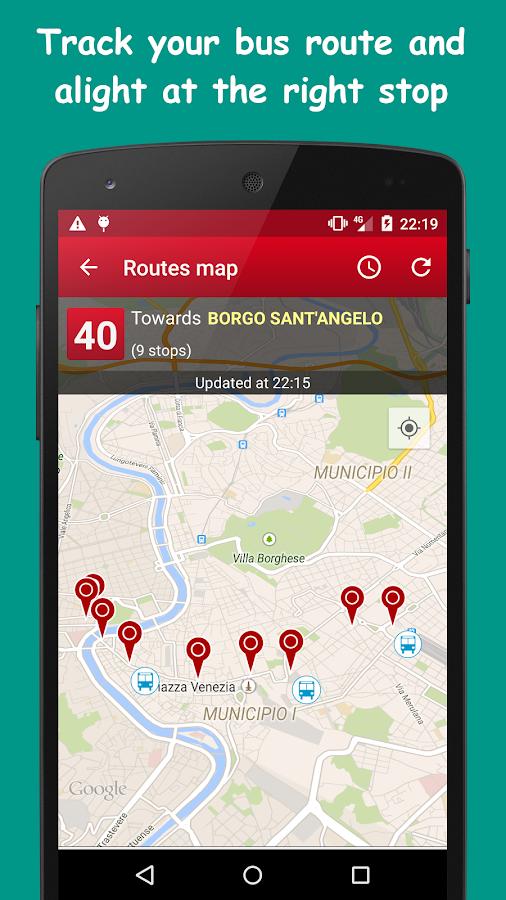 Probus Rome: Live Bus & Routes- screenshot