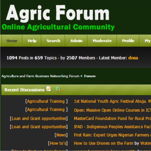 Agriculture Forum