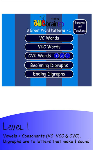 8 Great Word Patterns Level 1