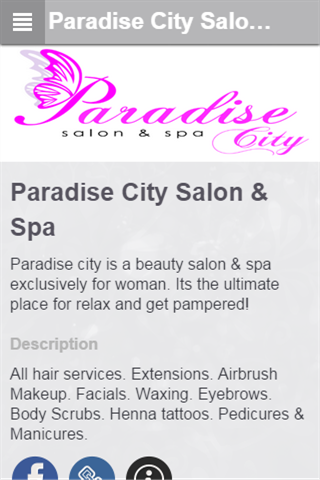 Paradise City Salon Spa