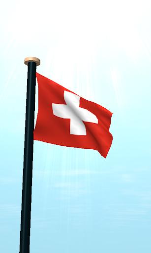 スイスフラグ3Dライブ壁紙|玩個人化App免費|玩APPs