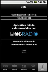 Radio Brasil/Pop Rock screenshot 4
