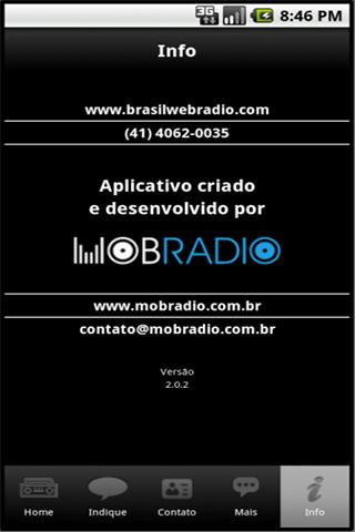 Radio Brasil/Pop Rock- screenshot