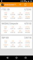 Screenshot of Stock Quotes Pro
