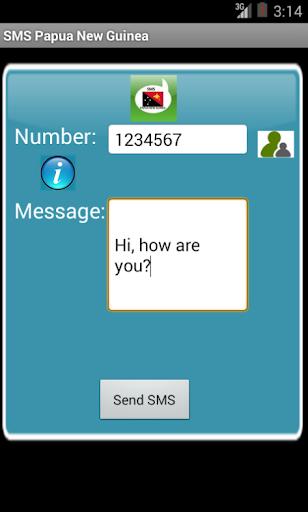 Free SMS Papua New Guinea