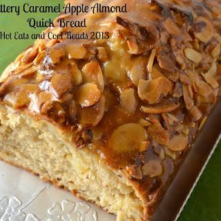 Buttery Caramel Apple Almond Quick Bread
