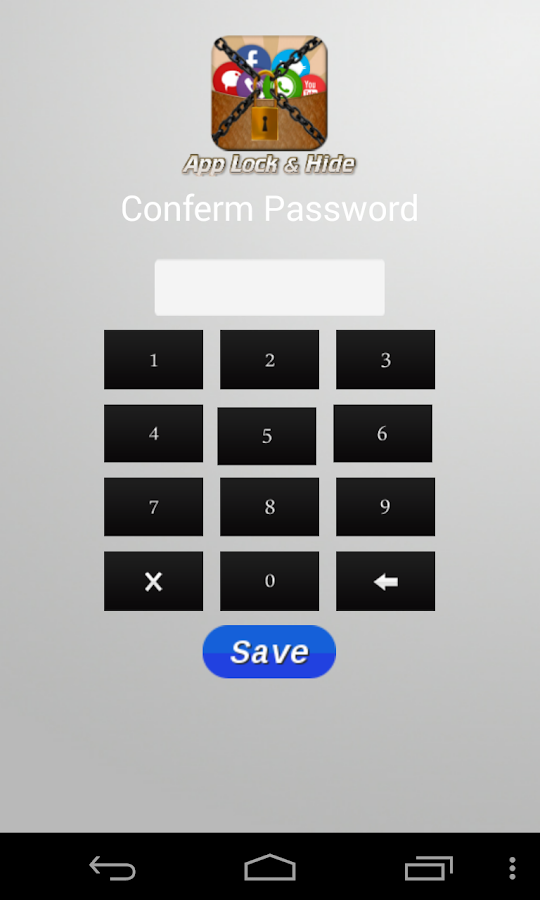 Applock & Hide- screenshot