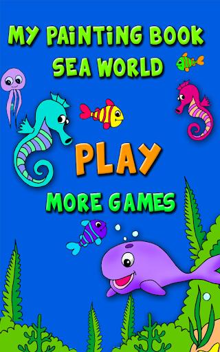 My Painting Book: Sea World