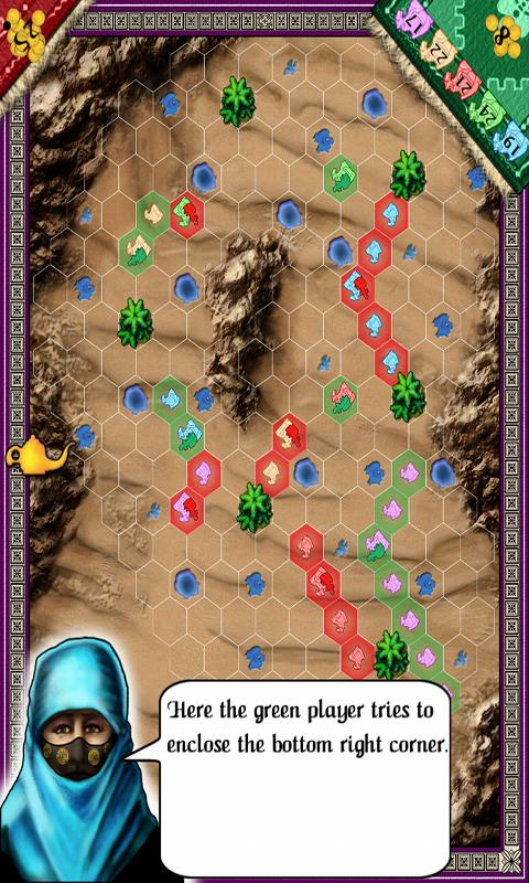 Knizia's Through the Desert - screenshot