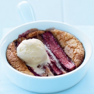 Rhubarb Puddings Recipe