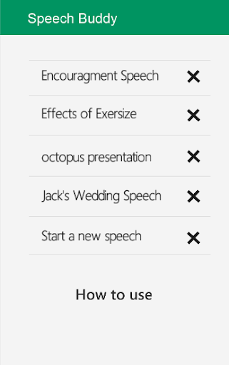 Speech Buddy:Memorize Speeches
