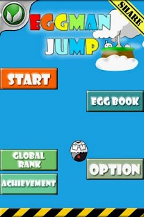 EggMan Jump- screenshot thumbnail